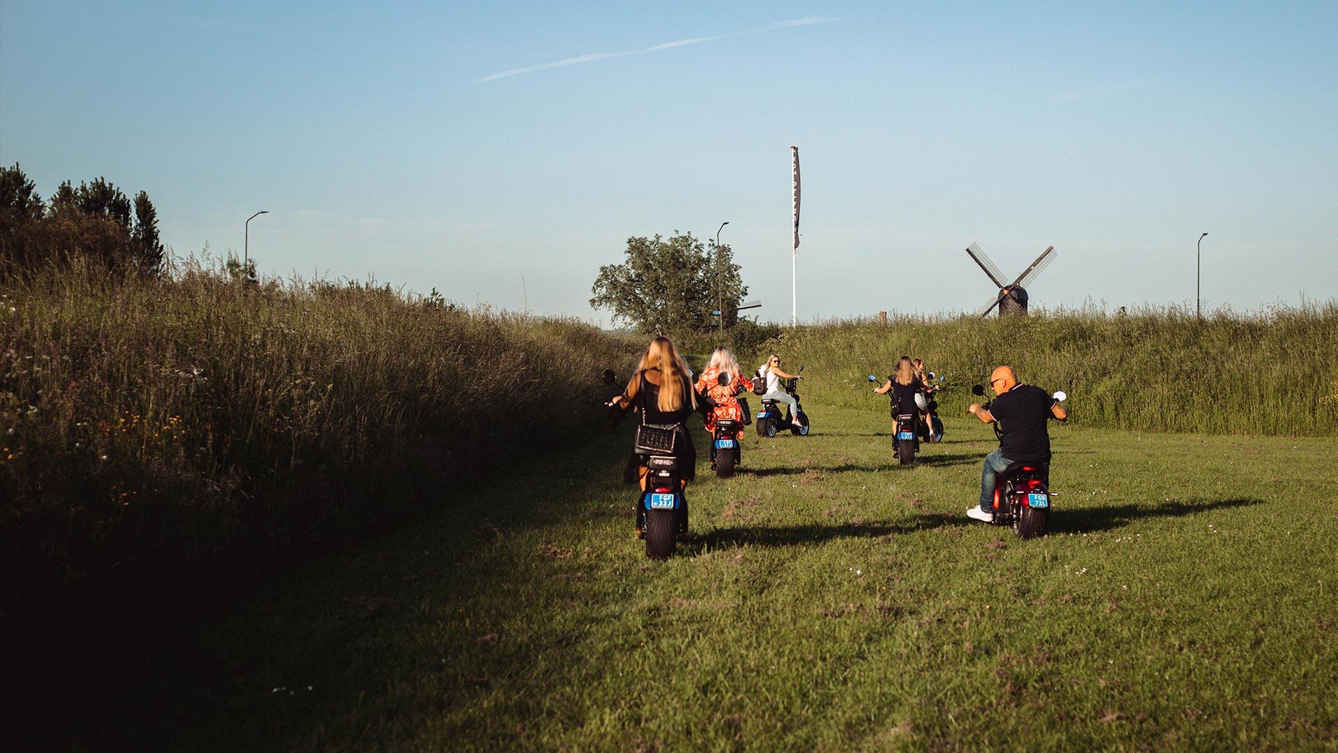 E-Verhuur Brabant E-chopper huren