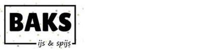 Logo van Baks ijs en spijs versie klein